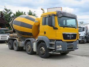 شاحنة خلط الخرسانة Liebherr  ذات شاسيه MAN TGS 32.400