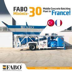 جديد ماكينة صناعة الخرسانة FABO MINIMIX-30M3/H MINI CENTRALE A BETON MOBILE