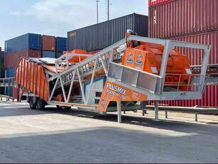 جديد ماكينة صناعة الخرسانة Plusmix 100 m³/hour MOBILE Concrete Plant - BETONNYY ZAVOD - CENTRALE A