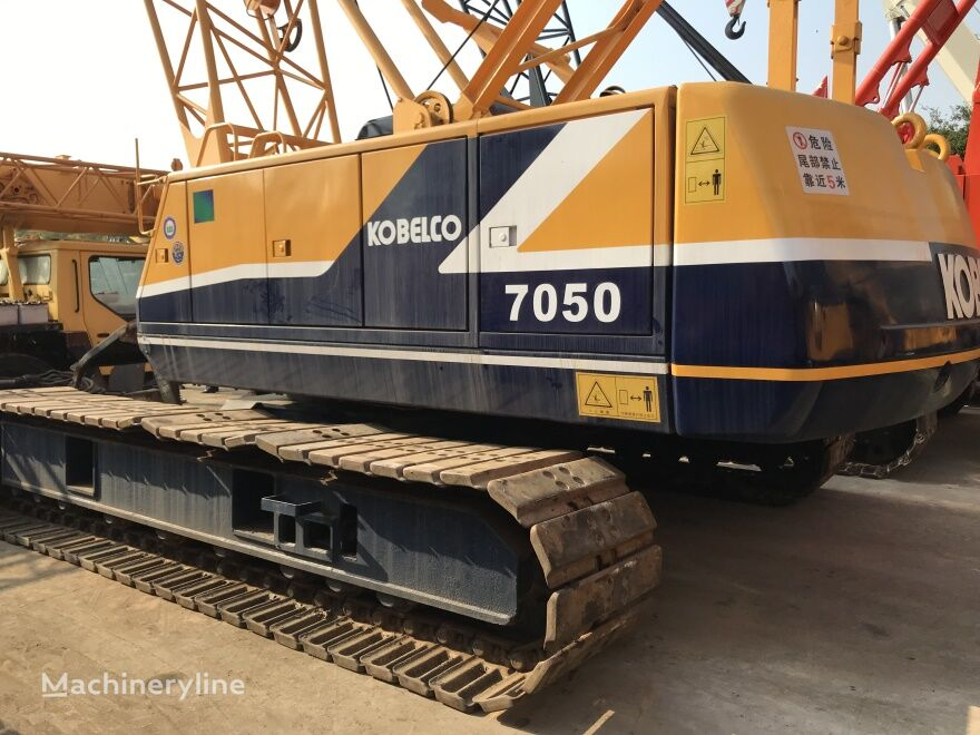 رافعة مجنزرة KOBELCO 7050 50 ton used Kobelco crawler crane on sale