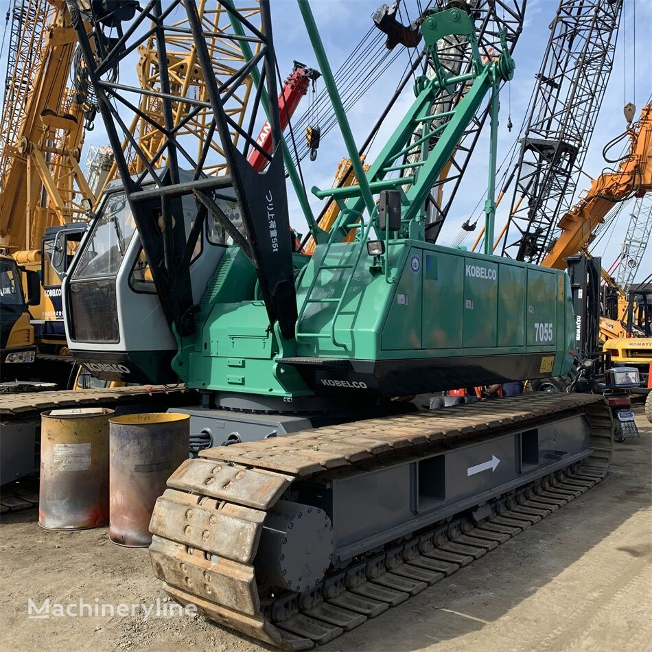 رافعة مجنزرة KOBELCO P&H 7055 Kobelco 55 ton used crawler crane on sale