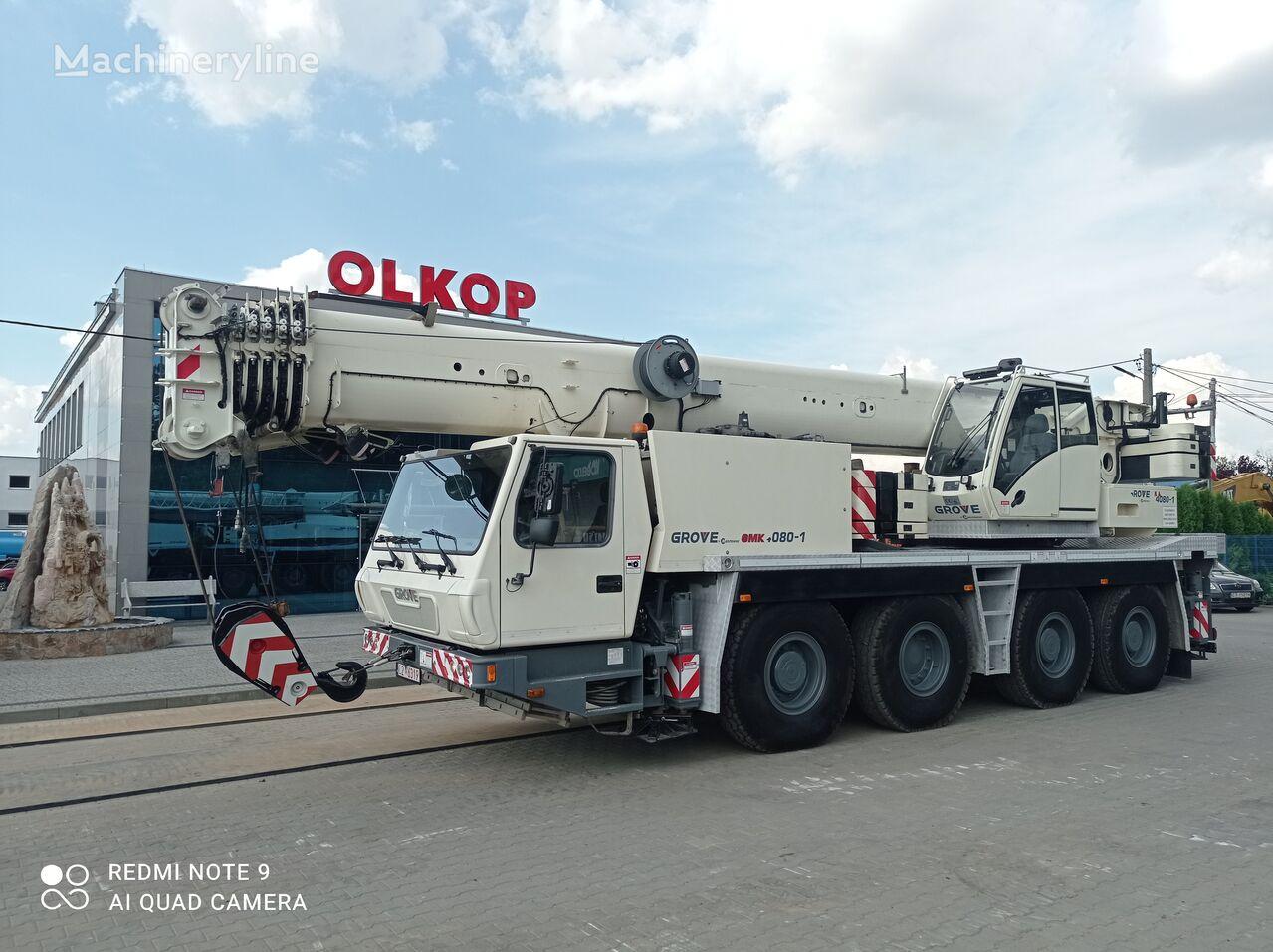 شاحنة رافعة GROVE GMK 4080-1