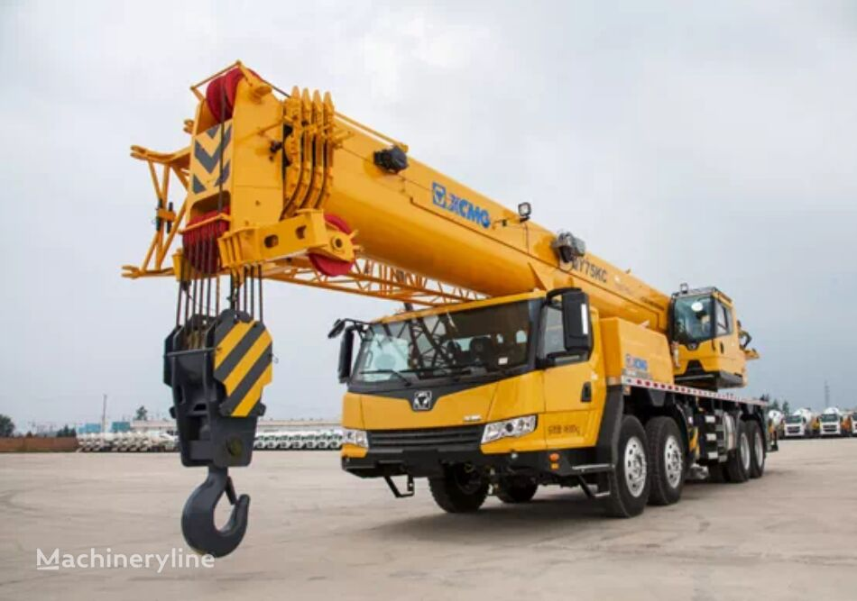 شاحنة رافعة XCMG QY75KC 75 ton XCMG used truck crane