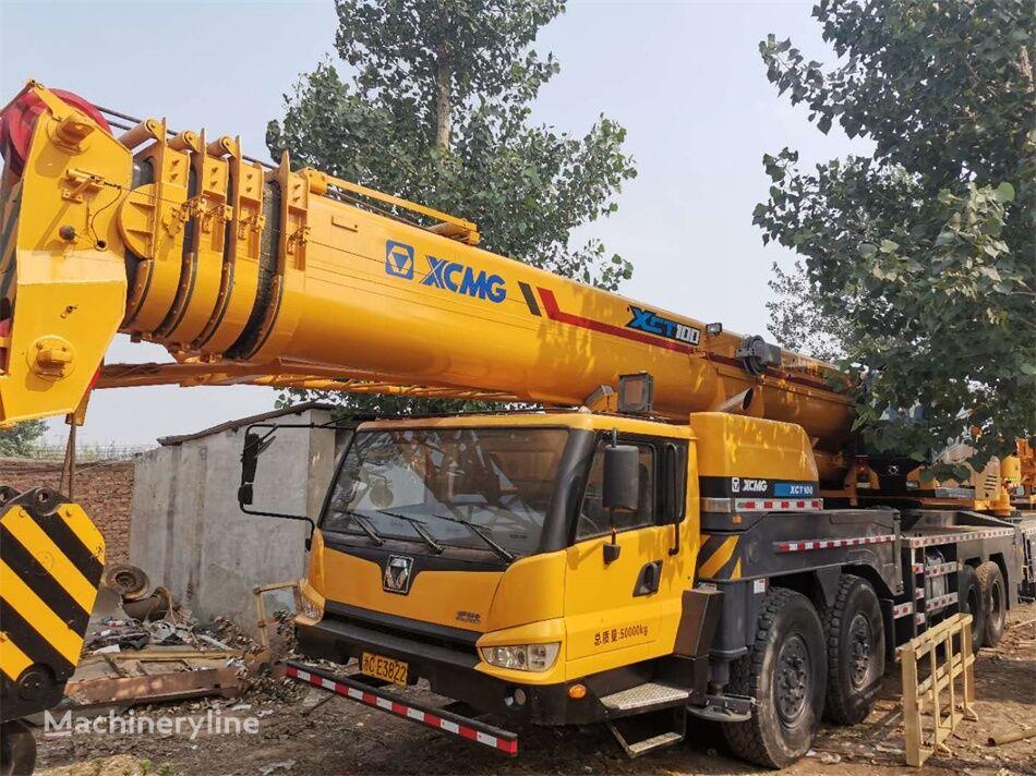 شاحنة رافعة XCMG XCT100 100 ton XCMG used truck crane on sale