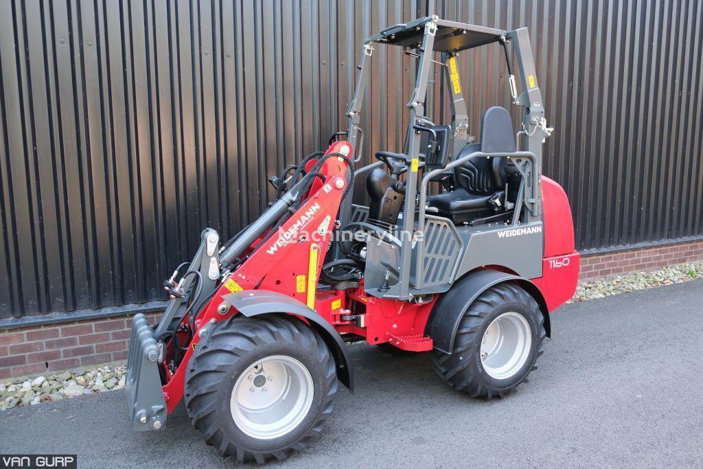 جديد جرافة ذات عجلات WEIDEMANN 1160 loader (EPS cabin)