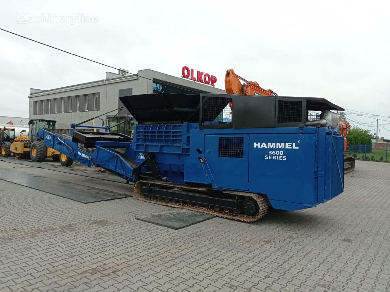 الكسّارة المتنقلة HAMMEL Hammel 3600