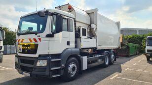 شاحنة جمع ونقل النفايات MAN TGS 26.320 LL 6x2 Müllwagen / Seitenlader