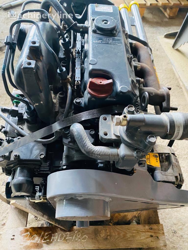 المحرك KUBOTA لـ مدحلة الأسفلت